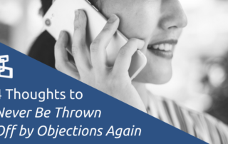 Never Be Thrown Off by Objections Again